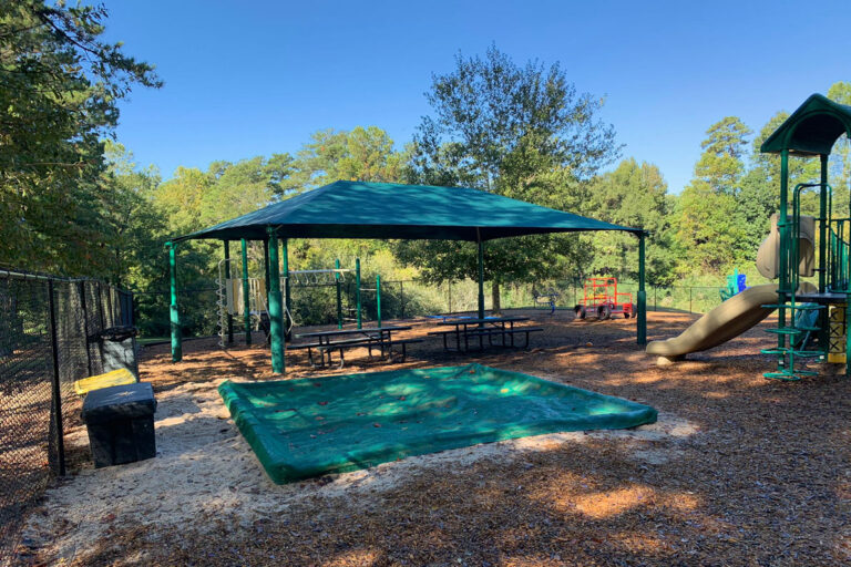 Southeast Outdoors Solutions In-Gound Shade Structure