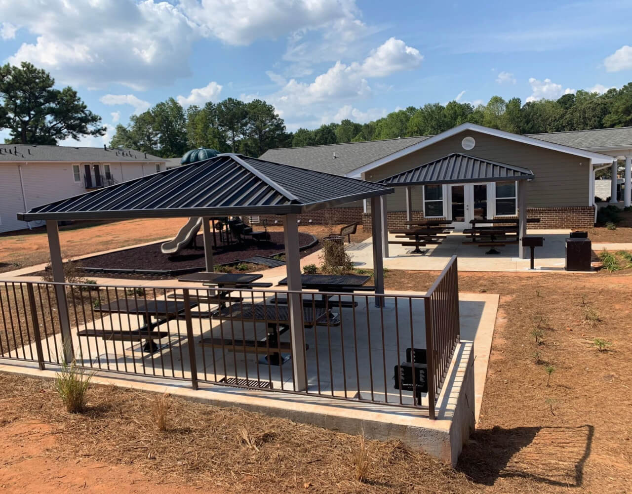 Southeast Outdoors Solutions Project Shared Community Spaces