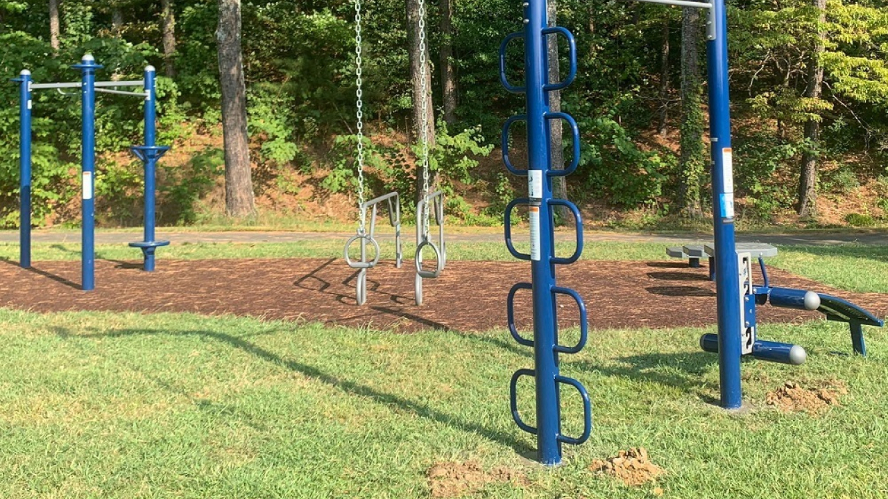 Southeast Outdoors Solutions Project Outdoor Workout Equipment